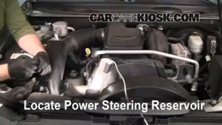 Follow These Steps to Add Power Steering Fluid to a Chevrolet Trailblazer (2002-2009)