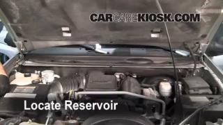 2005 Chevrolet Trailblazer LS 4.2L 6 Cyl. Windshield Washer Fluid Check Fluid Level