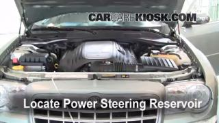 Follow These Steps to Add Power Steering Fluid to a Chrysler 300 (2005-2010)