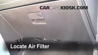 2005 Chrysler Pacifica Touring 3.5L V6 Air Filter (Cabin) Check