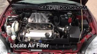 Air Filter How-To: 2001-2006 Chrysler Sebring