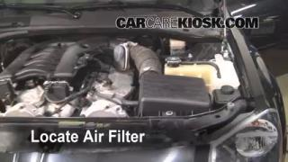 Air Filter How-To: 2005-2008 Dodge Magnum