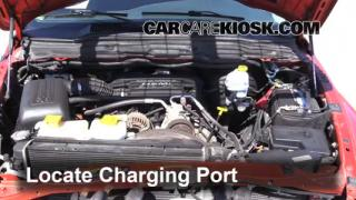How to Add Refrigerant to a 2002-2005 Dodge Ram 1500