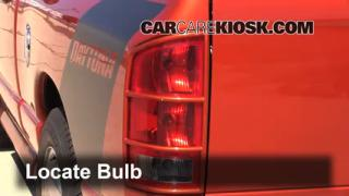 2005 Dodge Ram 1500 SLT 5.7L V8 Standard Cab Pickup (2 Door) Lights Tail Light (replace bulb)