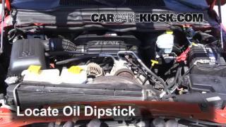 Check Oil Level 2002-2005 Dodge Ram 1500