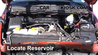 Check Windshield Washer Fluid Dodge Ram 1500 (2002-2005)