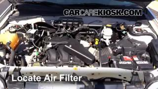 2005 Ford Escape Limited 3.0L V6 Air Filter (Engine) Replace