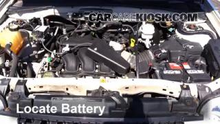 Battery Replacement: 2005-2012 Ford Escape