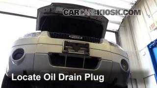 2005 Ford Escape Limited 3.0L V6 Oil Change Oil and Oil Filter