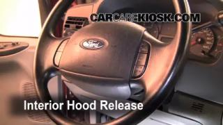 Open Hood How To 1999-2007 Ford F-250 Super Duty