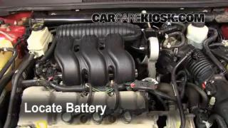 Battery Replacement: 2005-2007 Mercury Montego