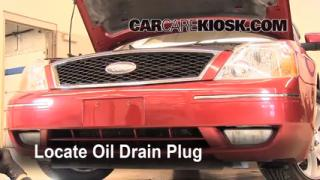 Oil & Filter Change Ford Five Hundred (2005-2007)