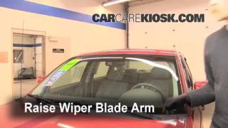 Front Wiper Blade Change Mercury Montego (2005-2007)