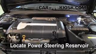 Follow These Steps to Add Power Steering Fluid to a Hyundai Elantra (2001-2006)