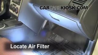 2005 Hyundai Tiburon GT 2.7L V6 Air Filter (Cabin) Check
