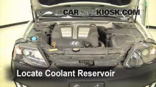 2005 Hyundai Tiburon GT 2.7L V6 Coolant (Antifreeze) Check Coolant Level