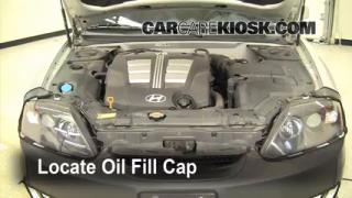 Oil & Filter Change Hyundai Tiburon (2003-2008)