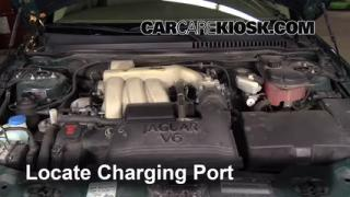 2005 Jaguar X-Type 3.0L V6 Sedan Air Conditioner Recharge Freon