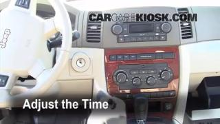 2005 Jeep Grand Cherokee Limited 5.7L V8 Clock Set Clock