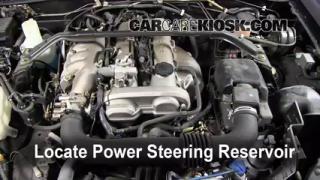 2005 Mazda Miata LS 1.8L 4 Cyl. Power Steering Fluid Fix Leaks