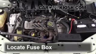 Blown Fuse Check 2000-2007 Ford Taurus