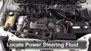 2005 Mercury Sable GS 3.0L V6 Sedan Power Steering Fluid Check Fluid Level