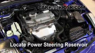 2005 Mitsubishi Eclipse Spyder GS 2.4L 4 Cyl. Power Steering Fluid Check Fluid Level
