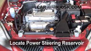 2005 Mitsubishi Lancer ES 2.0L 4 Cyl. Power Steering Fluid Fix Leaks