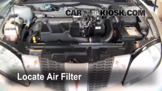 Air Filter How-To: 1995-2005 Pontiac Sunfire