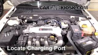 2005 Saturn L300 3.0L V6 Air Conditioner Recharge Freon