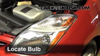 Parking Light Change 2004-2009 Toyota Prius