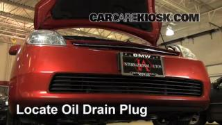 2005 Toyota Prius 1.5L 4 Cyl. Oil Change Oil and Oil Filter