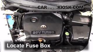 2005 Volkswagen Beetle GLS 1.8L 4 Cyl. Turbo Hatchback Fuse (Engine) Check
