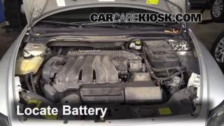 2005 Volvo S40 i 2.4L 5 Cyl. Battery Jumpstart