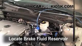 2006 Buick Lucerne CXS 4.6L V8 Brake Fluid Add Fluid