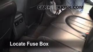 Interior Fuse Box Location: 2006-2011 Buick Lucerne