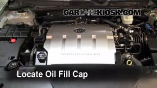 Oil & Filter Change Buick Lucerne (2006-2011)