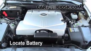 2006 Cadillac CTS 3.6L V6 Battery Clean Battery & Terminals