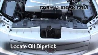 Check Oil Level 2003-2007 Cadillac CTS