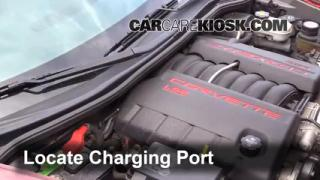 How to Add Freon in a 2005-2013 Chevrolet Corvette