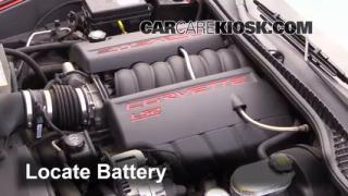 Battery Replacement: 2005-2013 Chevrolet Corvette