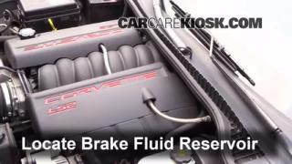 Add Brake Fluid: 2005-2013 Chevrolet Corvette