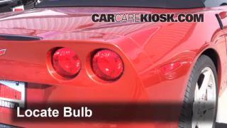 2006 Chevrolet Corvette 6.0L V8 Convertible Lights Turn Signal - Rear (replace bulb)