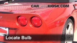 Tail Light Change 2005-2013 Chevrolet Corvette