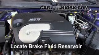 Add Brake Fluid: 2006-2007 Chevrolet Monte Carlo