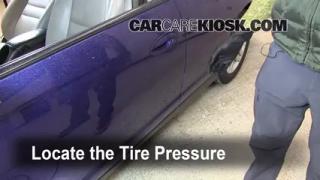 Properly Check Tire Pressure: Chevrolet Monte Carlo (2006-2007)