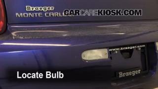 Reverse Light Replacement 2006-2007 Chevrolet Monte Carlo