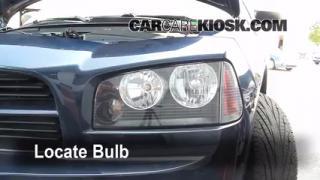 2006 Dodge Charger SXT 3.5L V6 Lights Headlight (replace bulb)