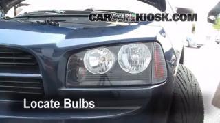 2006 Dodge Charger SXT 3.5L V6 Lights Parking Light (replace bulb)