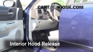 Open Hood How To 2006-2010 Dodge Charger